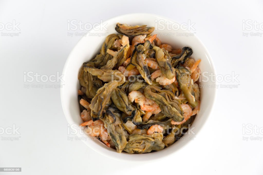Dragon Boat Festival material Oysters in a bowl 免版稅 stock photo