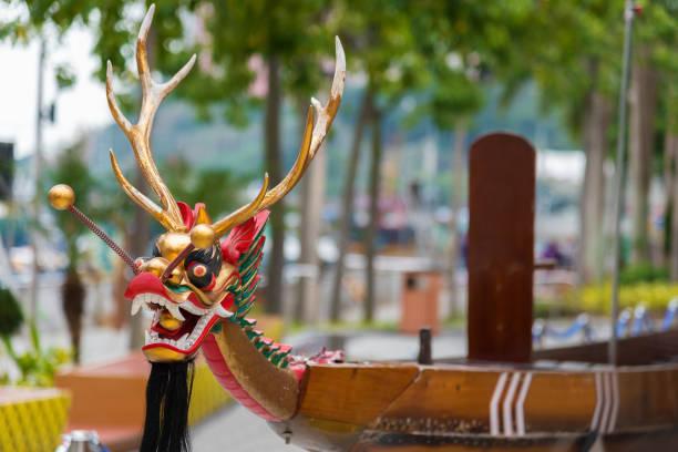 Drachenboot für chinesisches Drachenboot-Festival – Foto