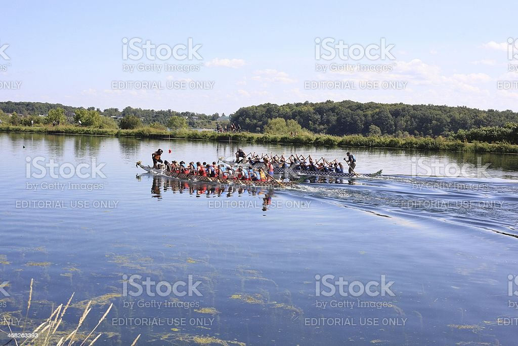 Dragon boat - Royalty-free Athlete Stock Photo