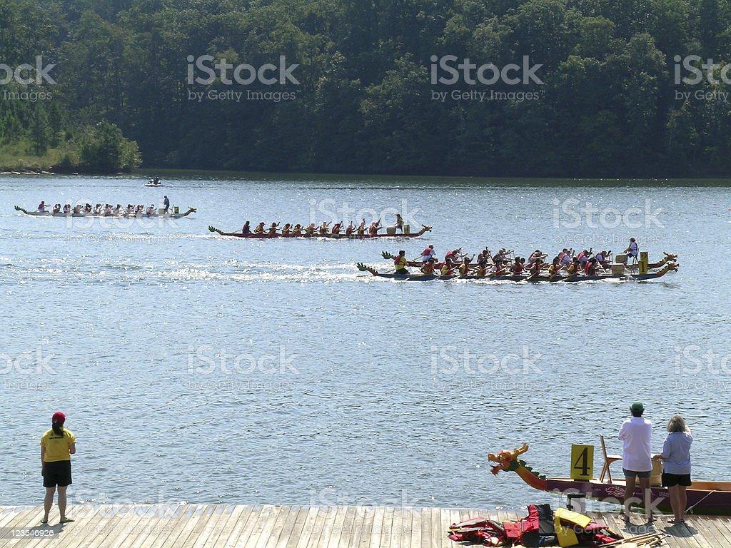 Dragon Boat Race royalty-free stock photo
