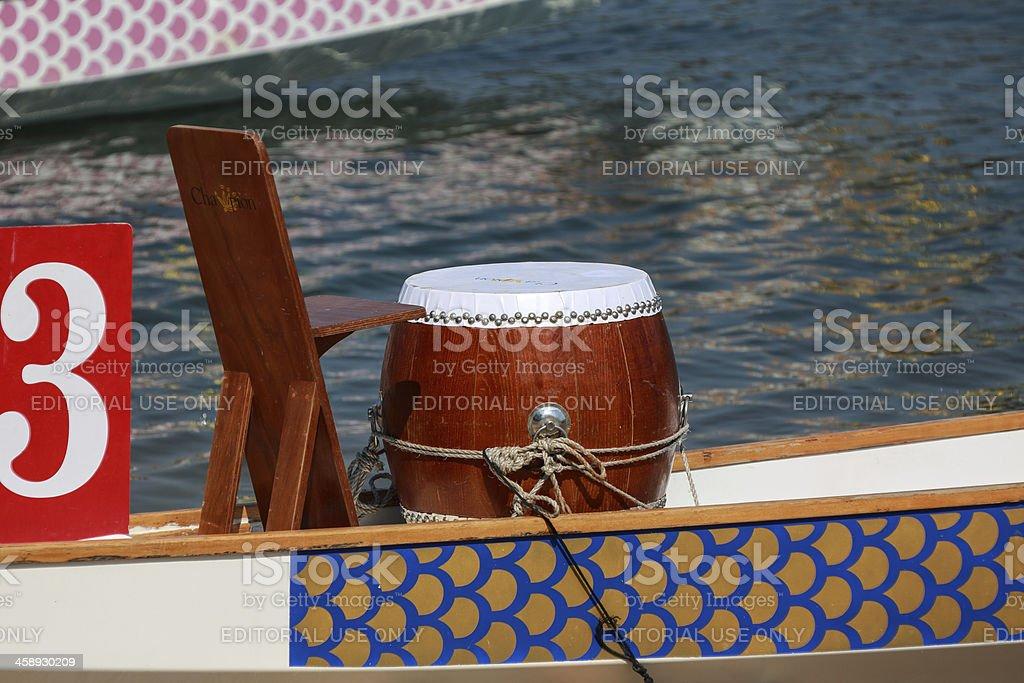 Dragon Boat social racing royalty-free stock photo