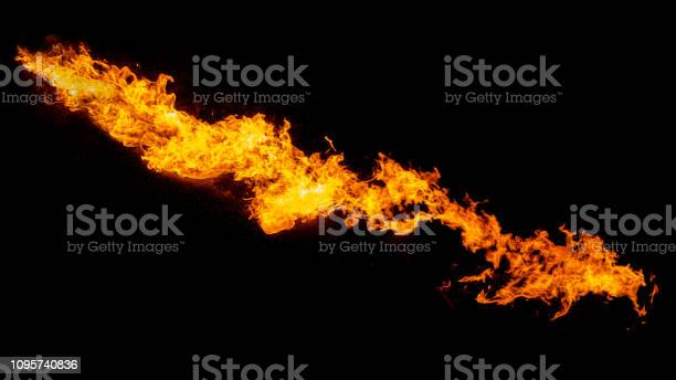 Photo of Dragon breathing flame