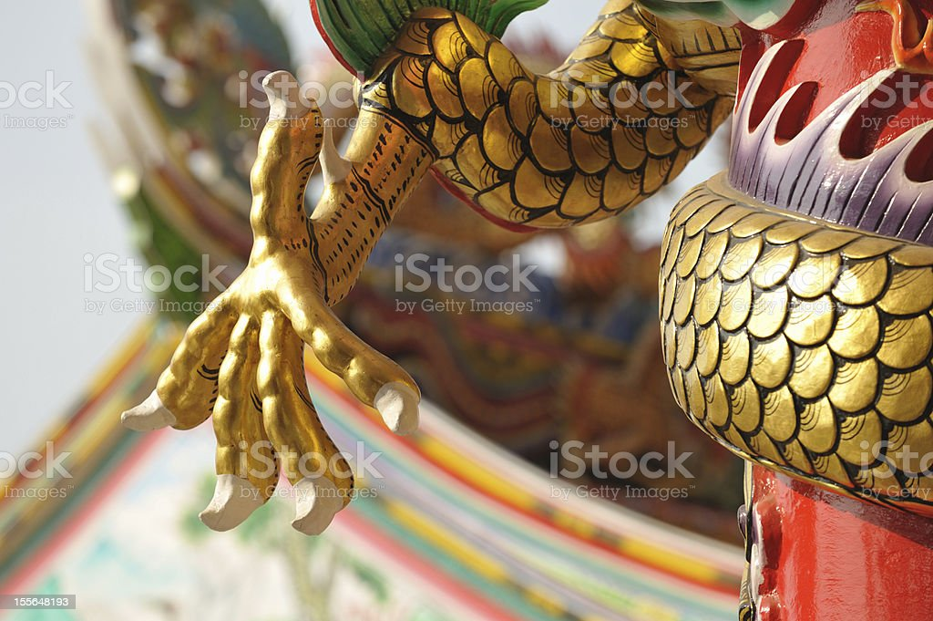 Dragon Claw royalty-free stock photo