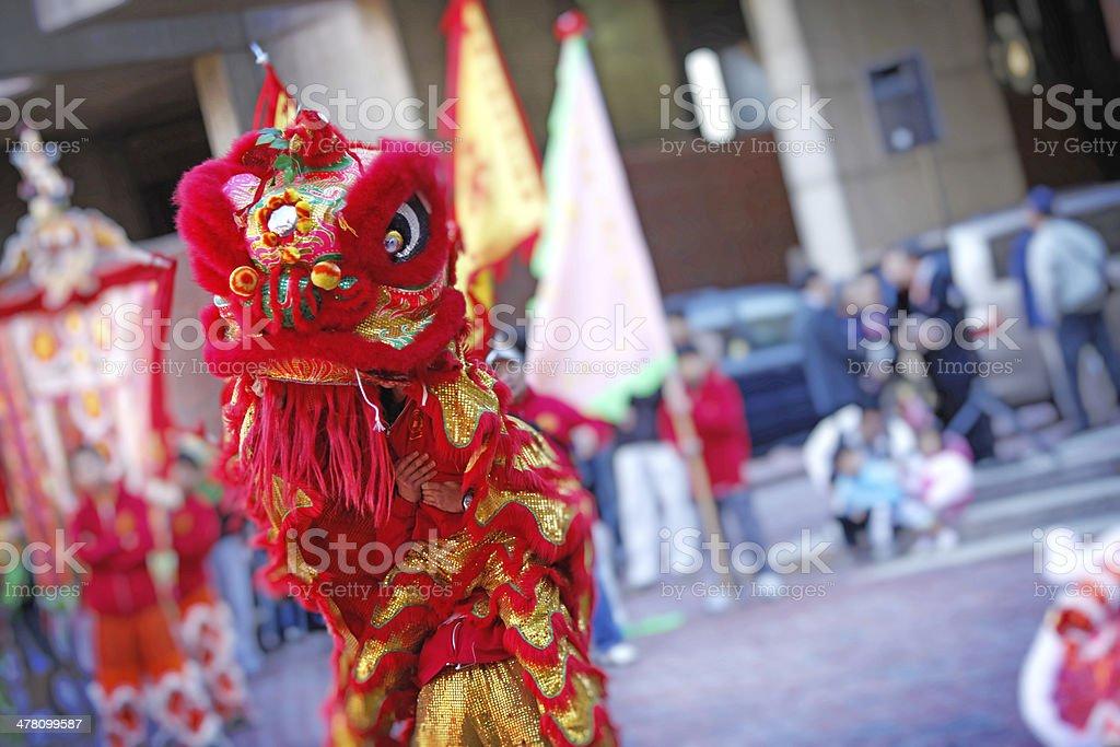 Dragon Dancer royalty-free stock photo