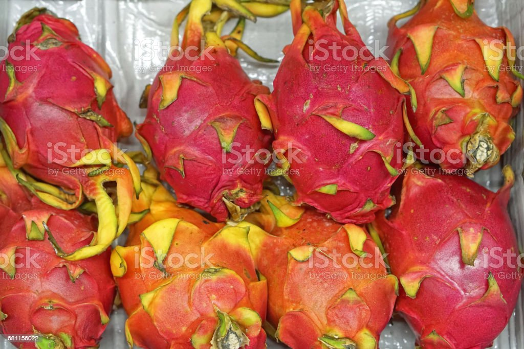 Dragon fruit royaltyfri bildbanksbilder
