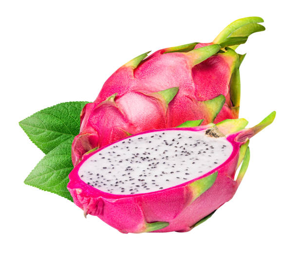 Dragon fruit, pitaya isolated on white background Dragon fruit, pitaya isolated on white background with clipping path pitaya stock pictures, royalty-free photos & images