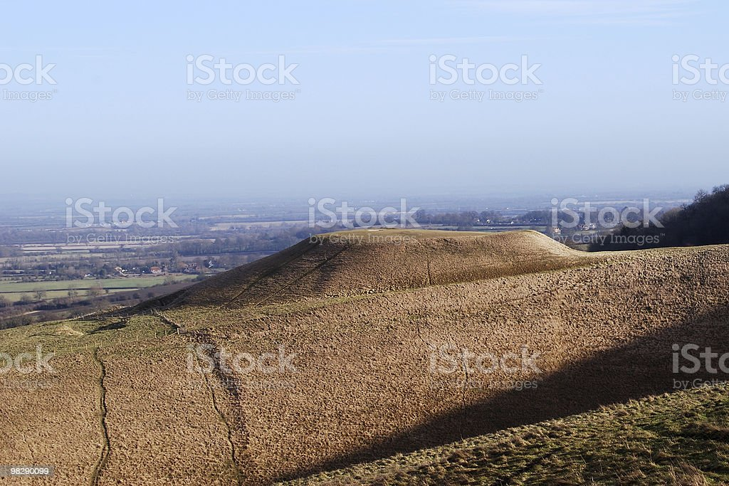 Dragon Hill, Oxfordshire, England royalty-free stock photo
