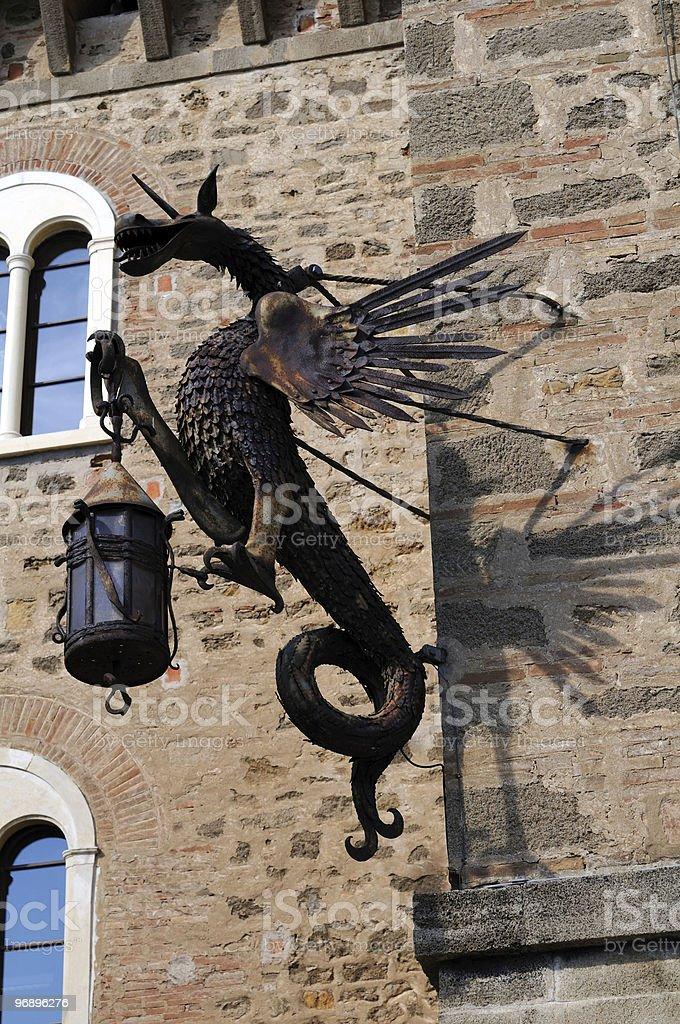 Dragon latern royalty-free stock photo