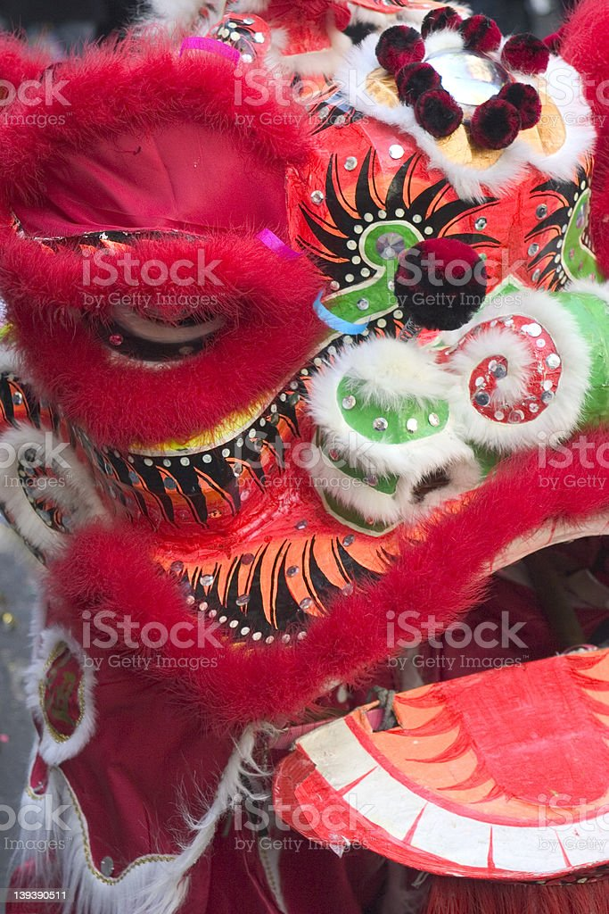 Dragon Mask royalty-free stock photo
