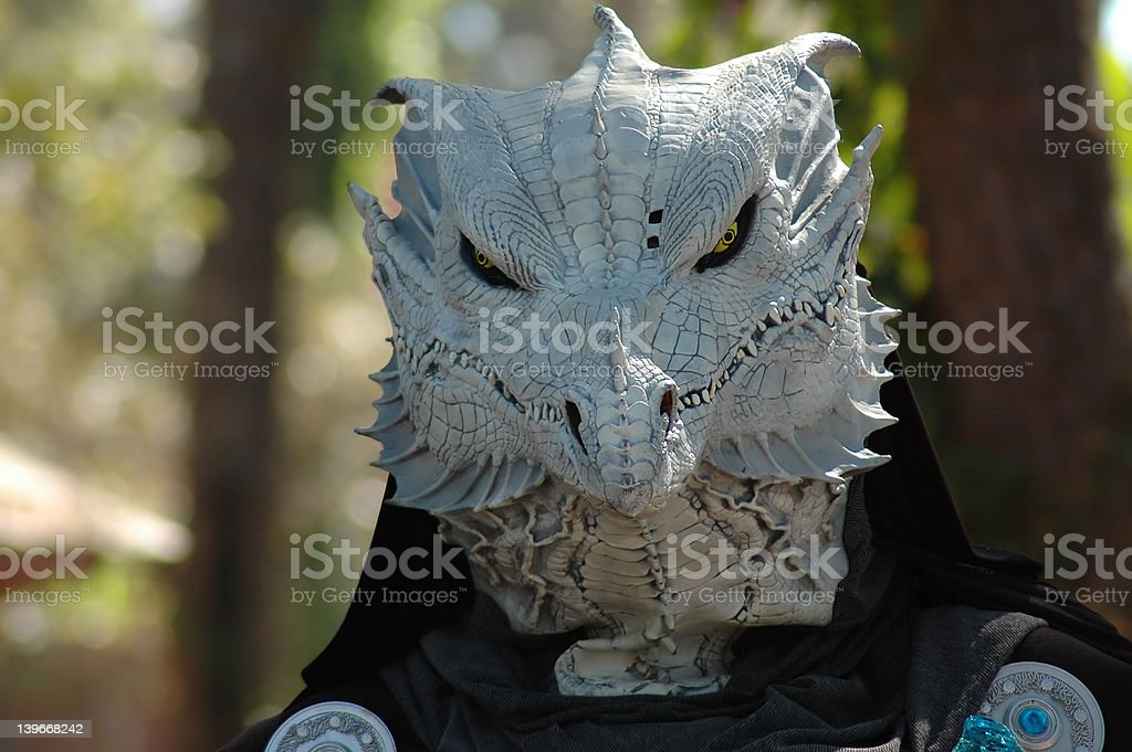 Dragon Mask stock photo