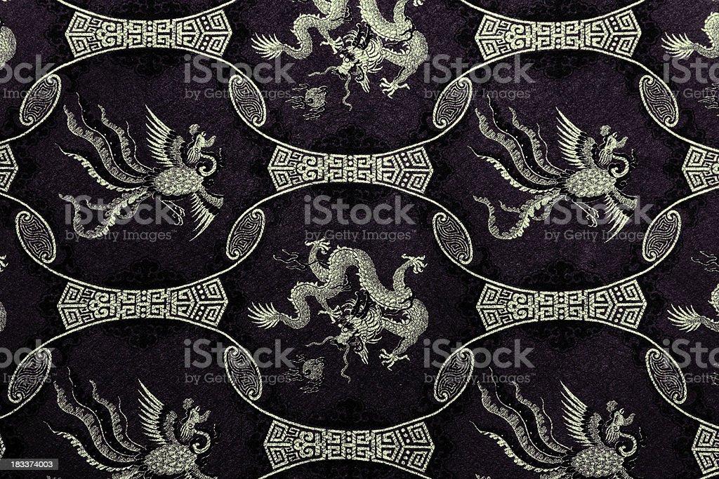 Dragon Pattern royalty-free stock photo