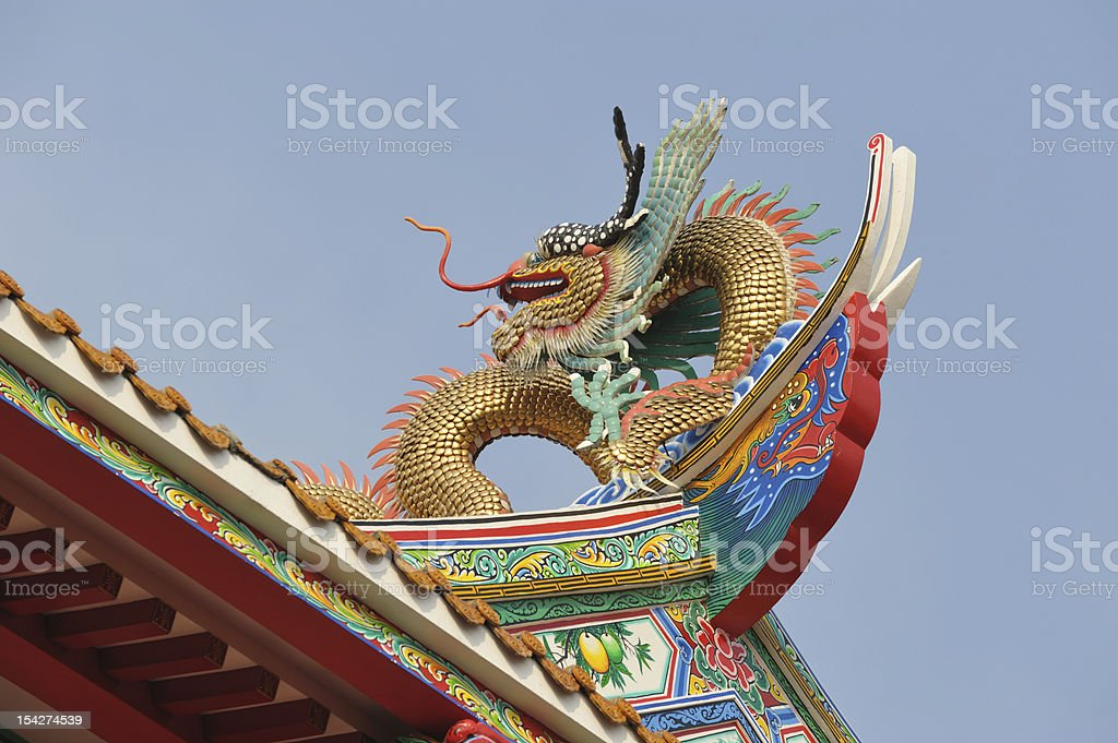 Dragon royalty-free stock photo