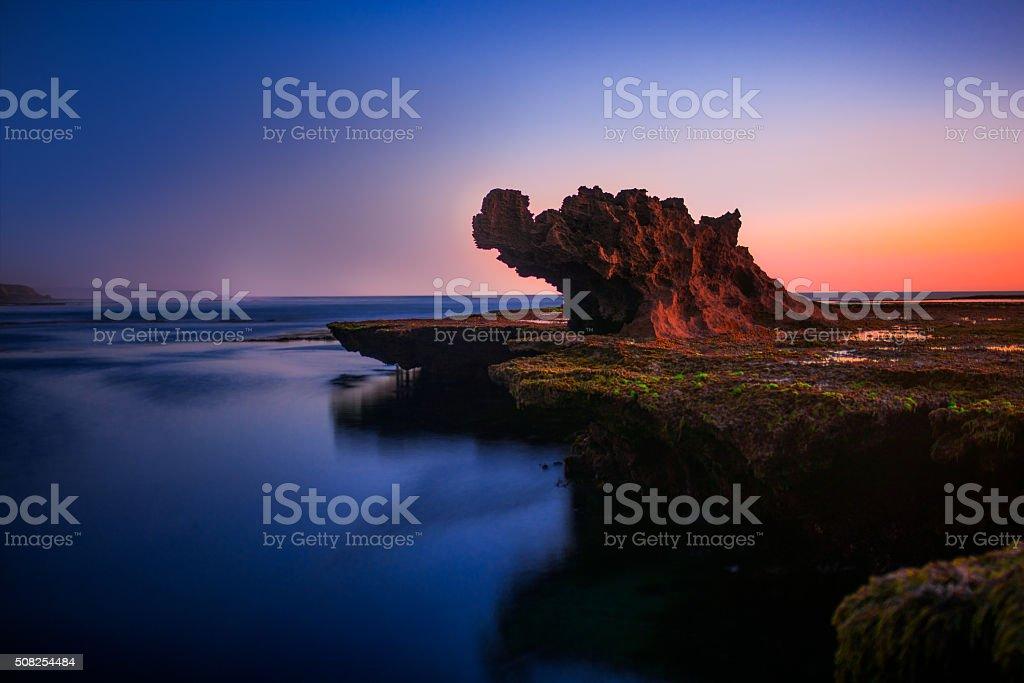 Dragon Rock stock photo