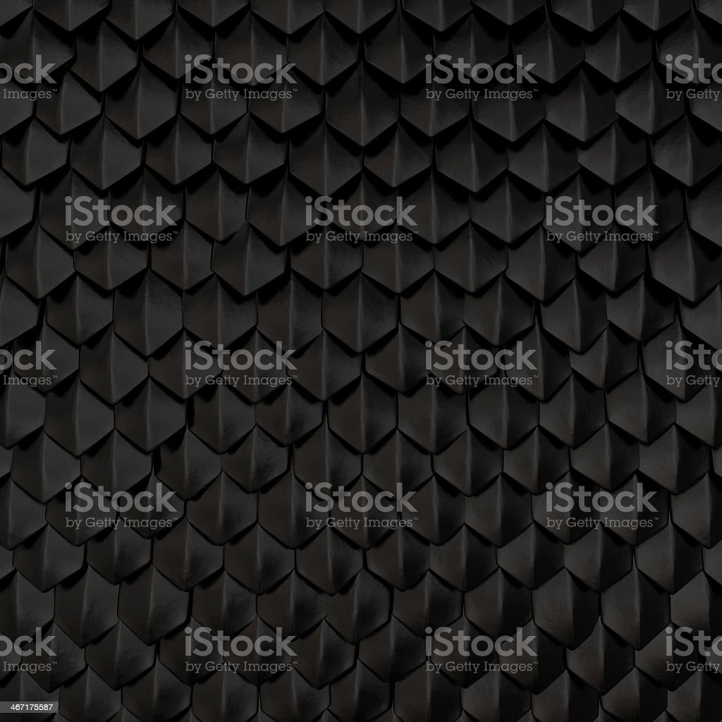 Dragon scales stock photo