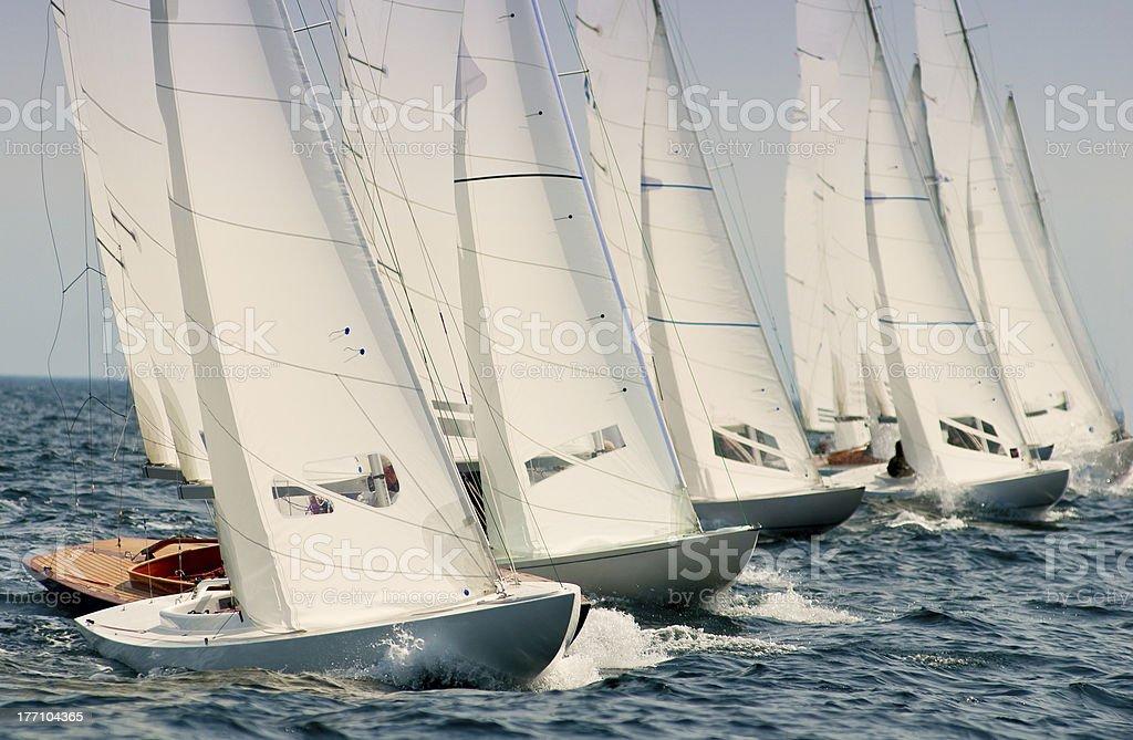 dragon yacht auf der regatta – Foto