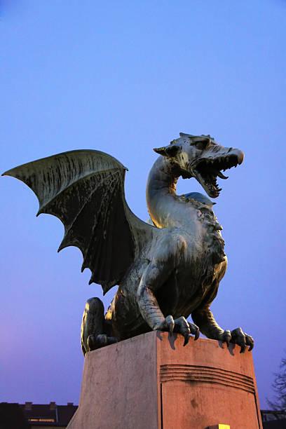 dragon -brdige のドラゴン ストックフォト