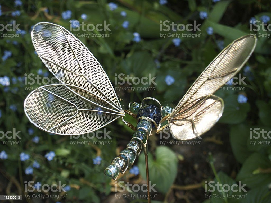 Dragonfly Garden royalty-free stock photo