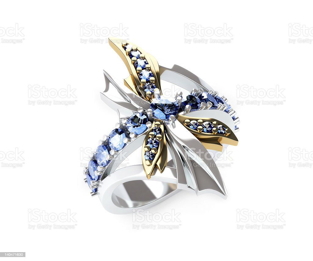 Dragonfly ring royalty-free stock photo