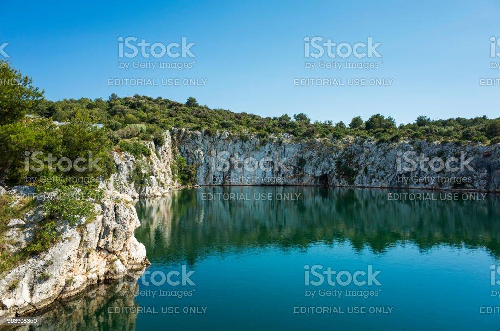 Dragons Eye, Rogoznica Dalmatia Croatia - Royalty-free 2018 Stock Photo