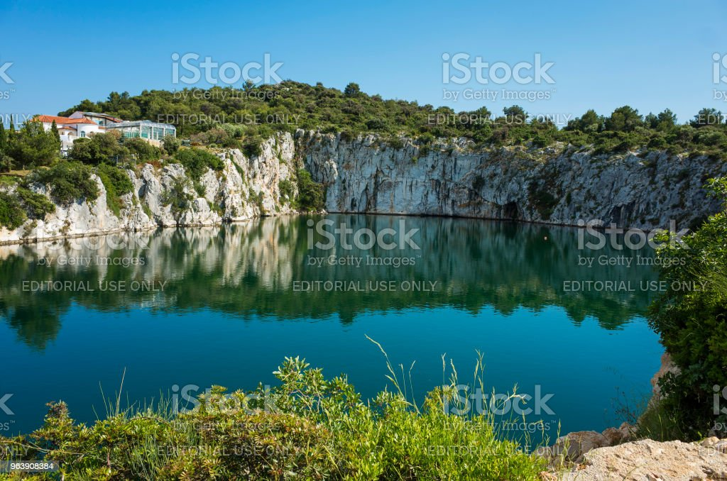 Dragons Eye, Rogoznica Dalmatia Croatia - Royalty-free 2018 Stock Photo