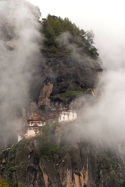 Dragon's Nest Temple in the clouds