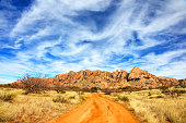 The Dragoon Mountains are a range of mountains located in Cochise County, Arizona.