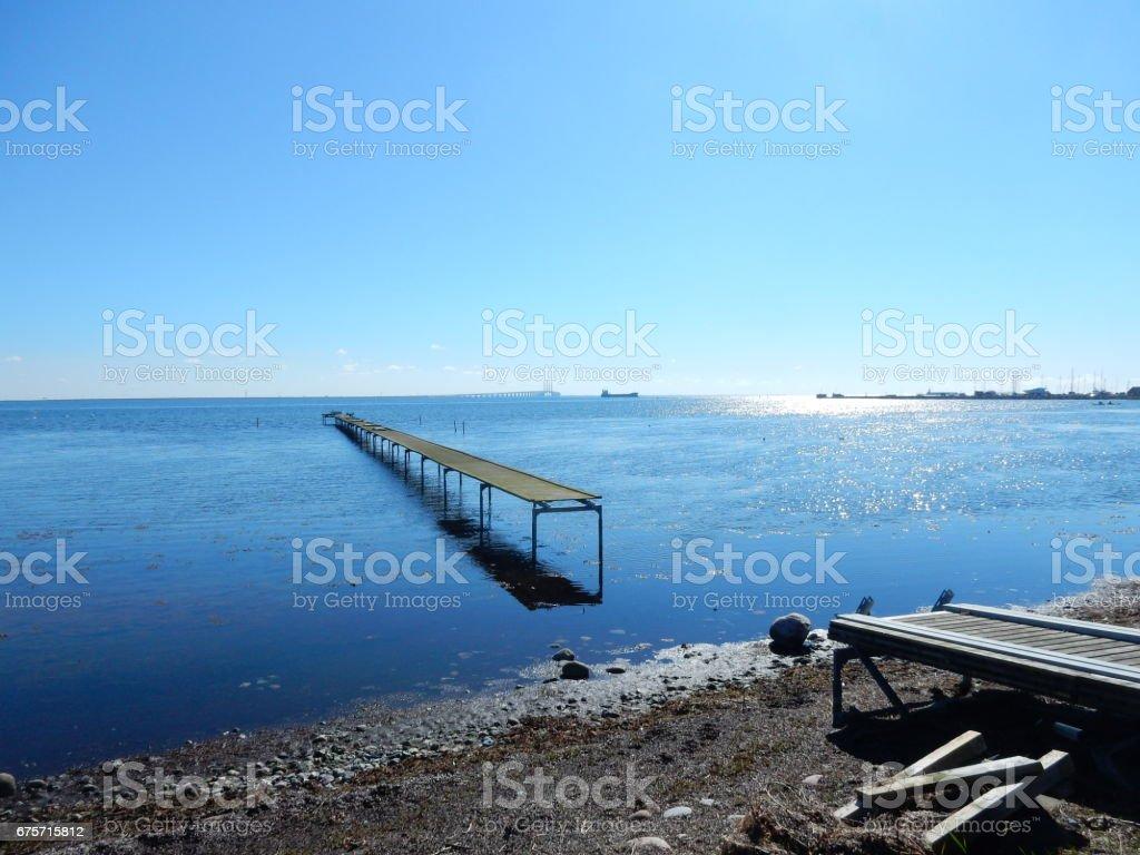 德拉戈,丹麥厄島 免版稅 stock photo