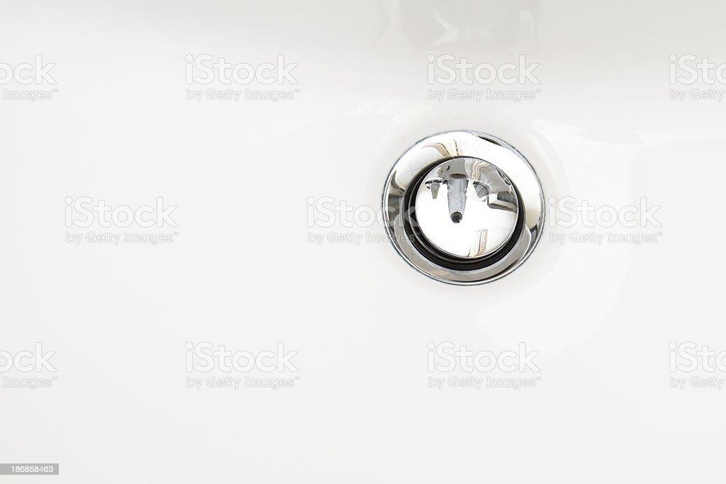 drain Close-Up royalty-free stock photo