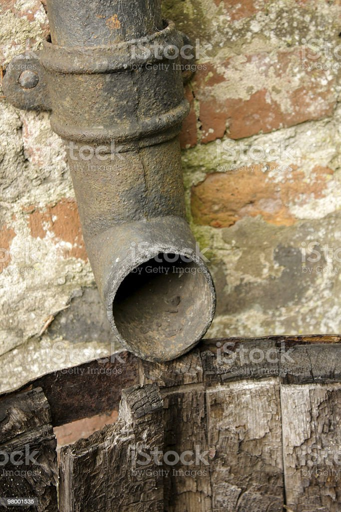 Drain Pipe royalty-free stock photo