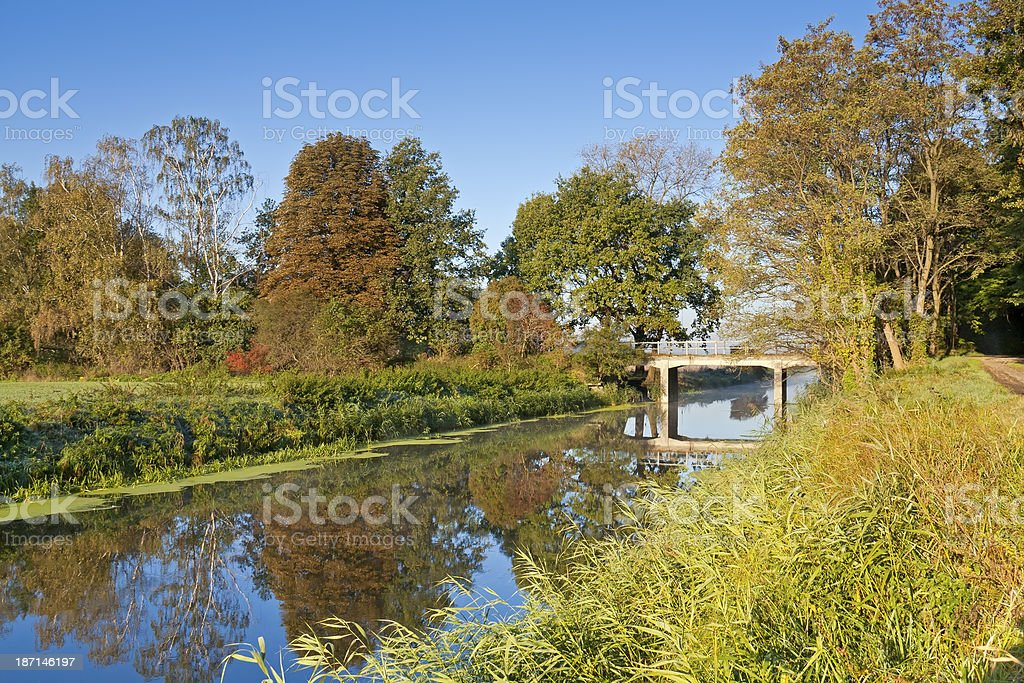 Drainage Canal royalty-free stock photo