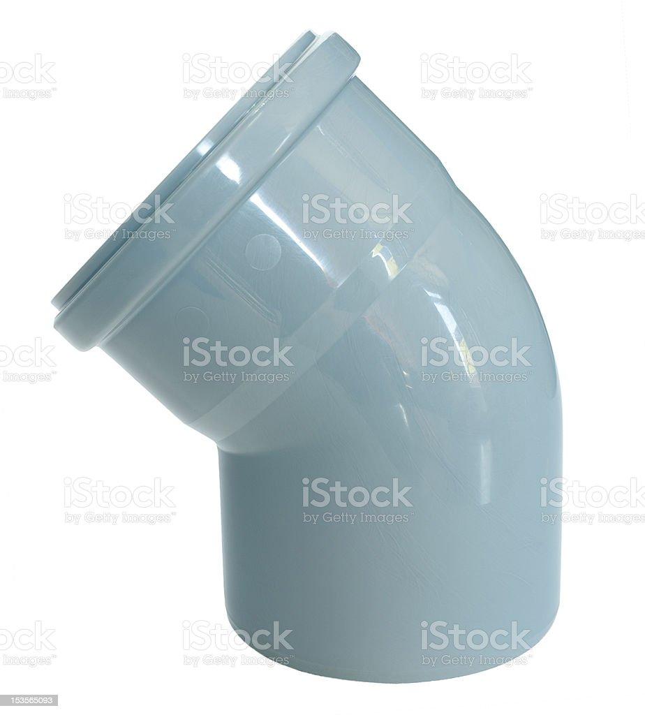 draining pipe bend stock photo