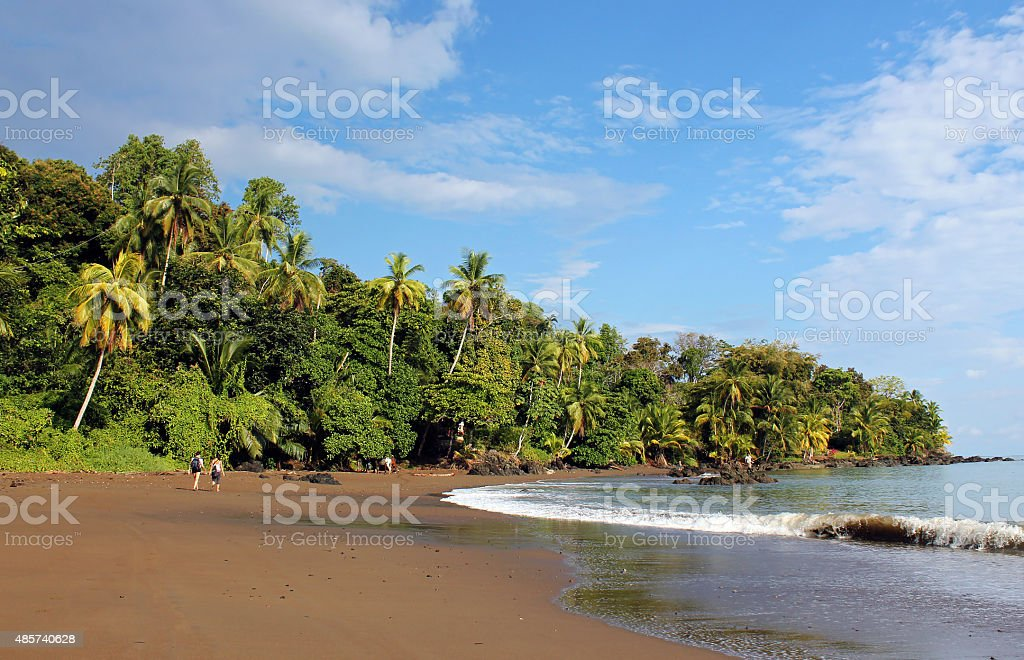 Drake Bay bildbanksfoto