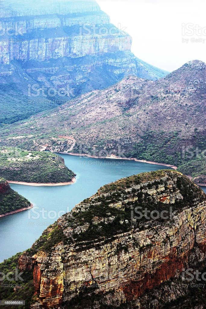 Drakensberg, Blyde River Canyon in South Africa stock photo