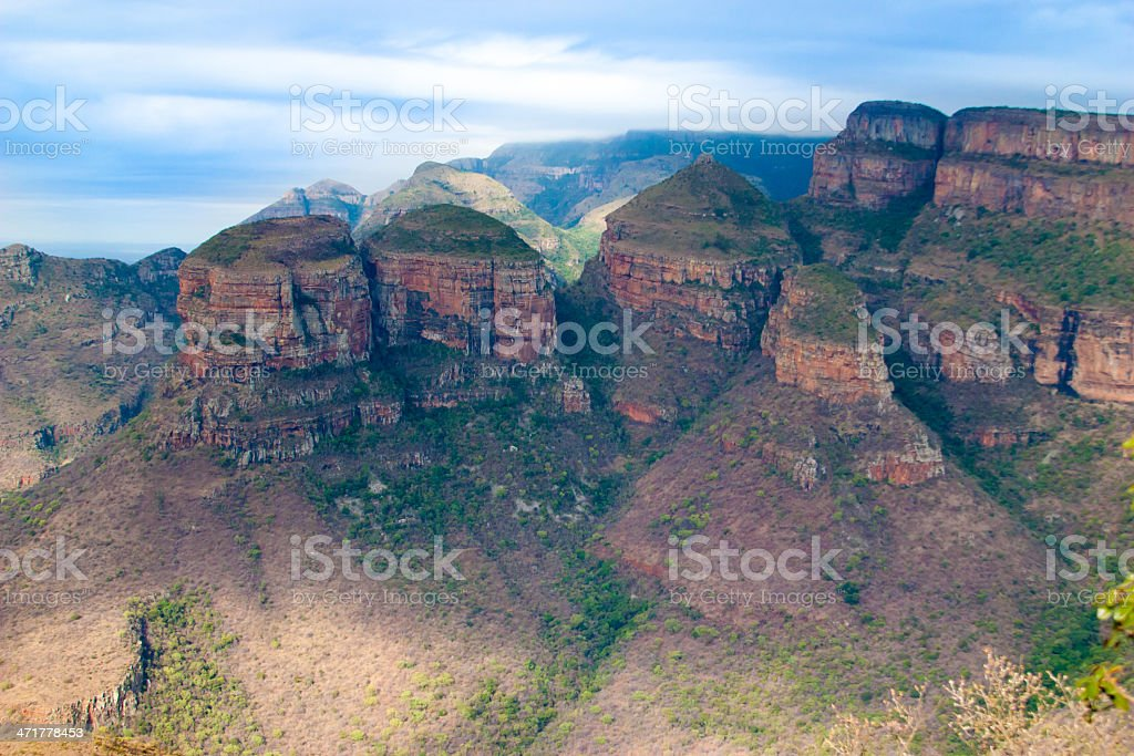 Drakensberg, Blyde River Canyon,South Africa royalty-free stock photo