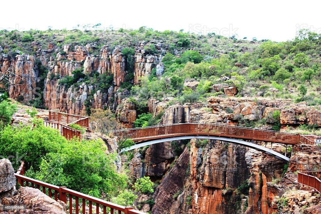 Drakensberg, Bourke's Luck Potholes in Blyde River Canyon South Africa stock photo