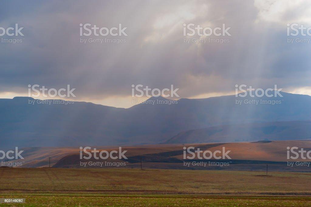 Drakensberg Mountains stock photo