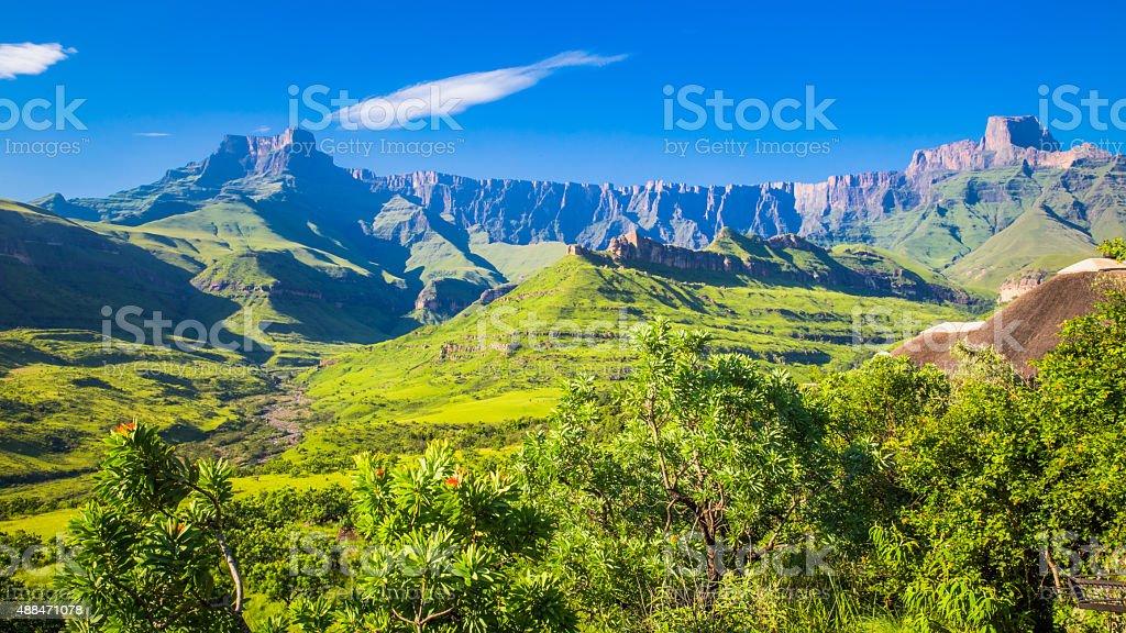 Drakensberg National Park stock photo