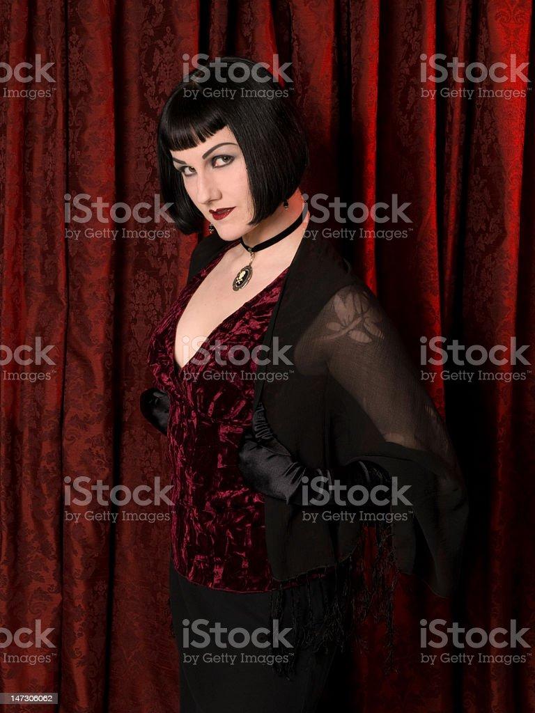 Drama Queen - Glance stock photo
