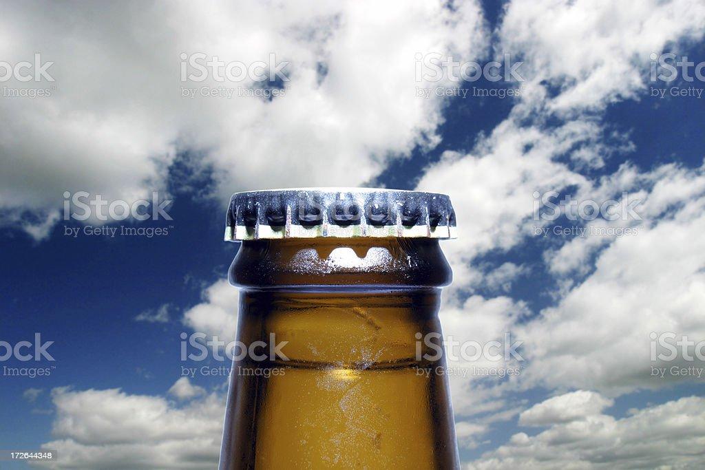 Dramatic beer stock photo