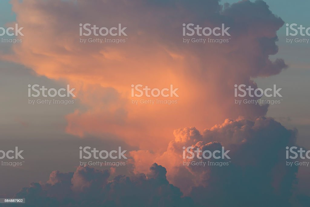 Dramatische cloud – Foto