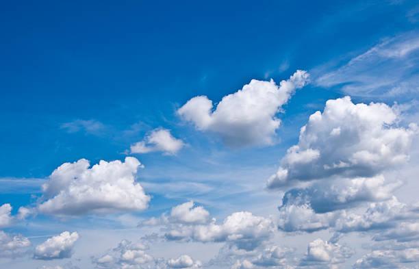 Dramatische Wolken – Foto