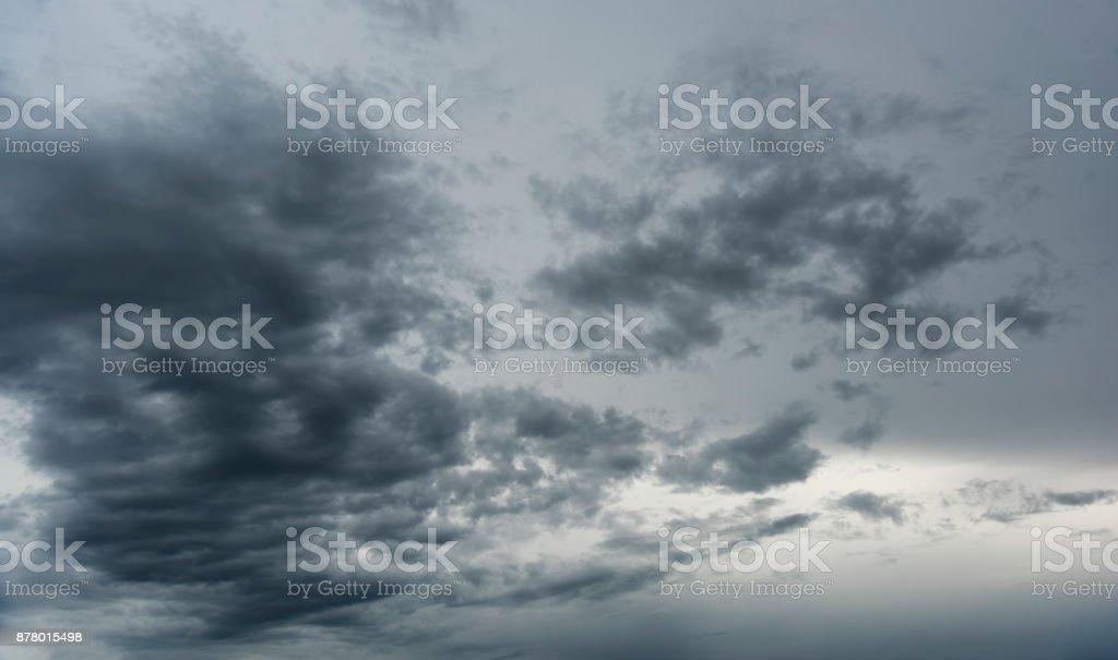 Dramatic cloudscape stock photo