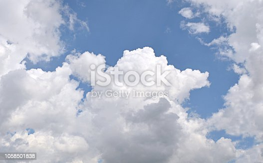 istock Dramatic cloudy sky 1058501838