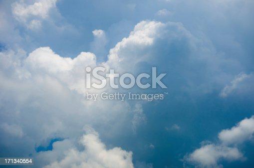 istock Dramatic cloudy sky 171340554