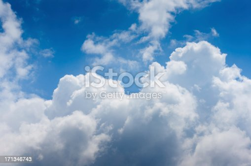 istock Dramatic cloudy sky 171346743