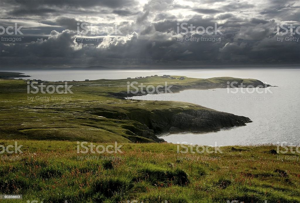 Dramatic Coast stock photo