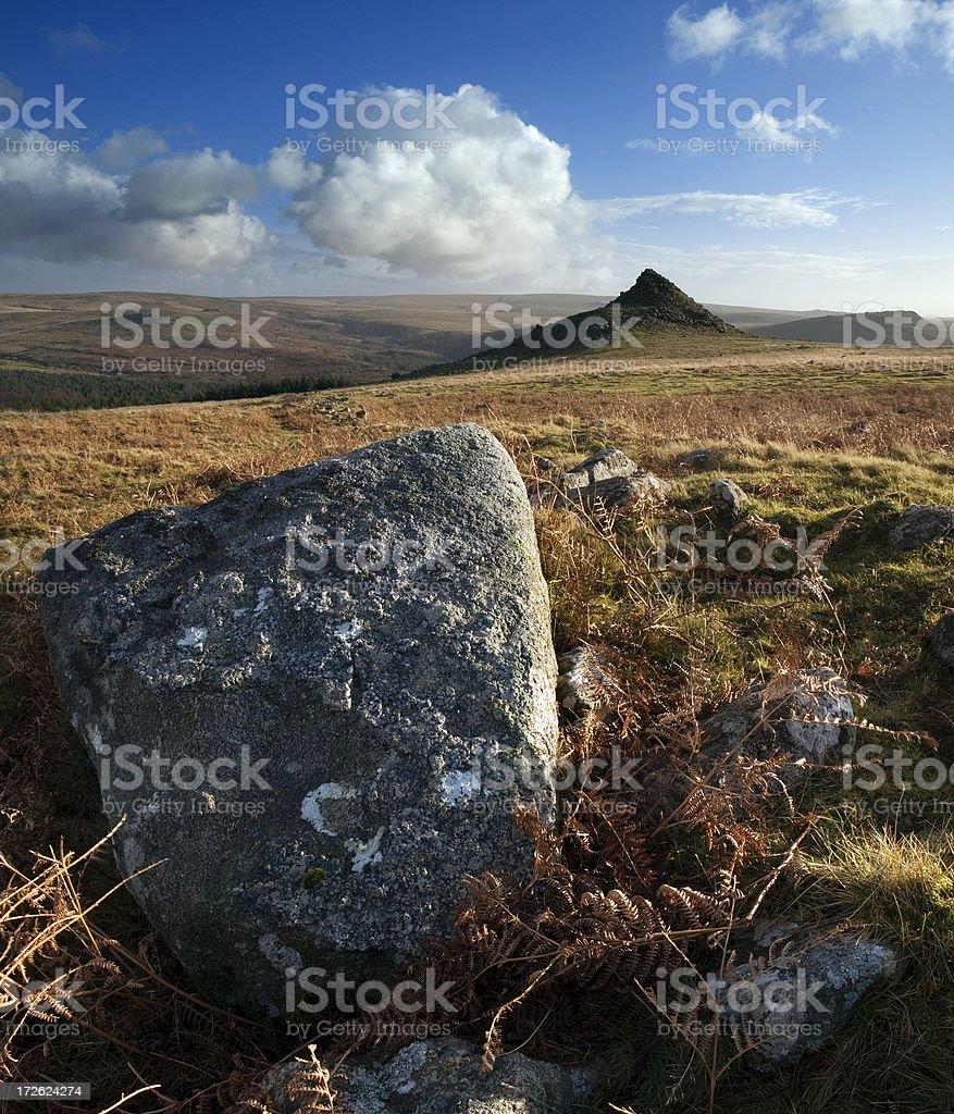 Dramatic Dartmoor royalty-free stock photo