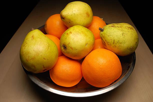 Dramatic fruit stock photo