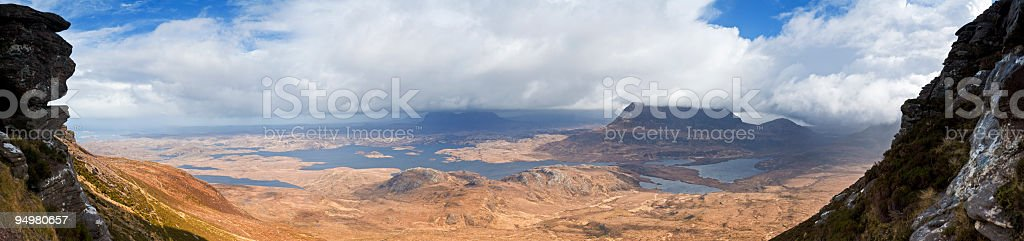Dramatic Highland wilds Scotland royalty-free stock photo