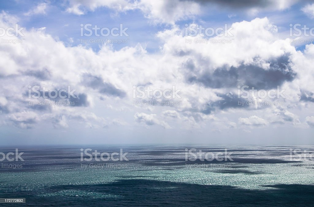 Dramatic Horizon royalty-free stock photo
